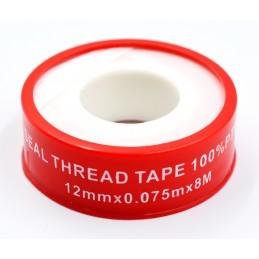 Упаковка фум ленты 10 шт красная Milano 12*0.075*8м