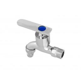 Кран садовый водоразборный, 1/2 хром метал, 8003-S 035 J.G.