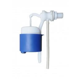 Клапан впускний для унітазу куля кран 1/2 бокове підключення, пластик Псков 54 ЗАВОД Псков-Полимер