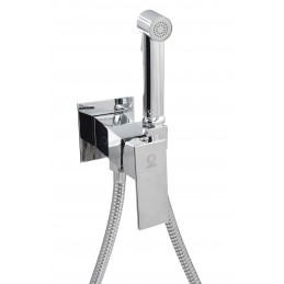 Комплект для биде ANGO SET7 смеситель, шланг, лейка для биде ANGO