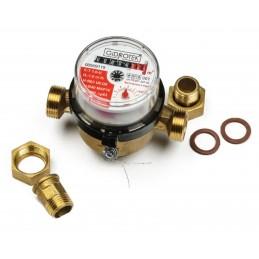 Счетчики для горячей воды со штуцером GIDROTEK
