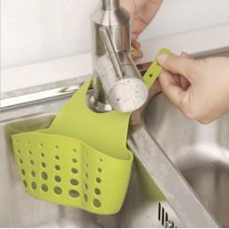 Подвесная корзинка-органайзер для кухонных губок и принадлежностей, пищевой силикон ANGO ANGO
