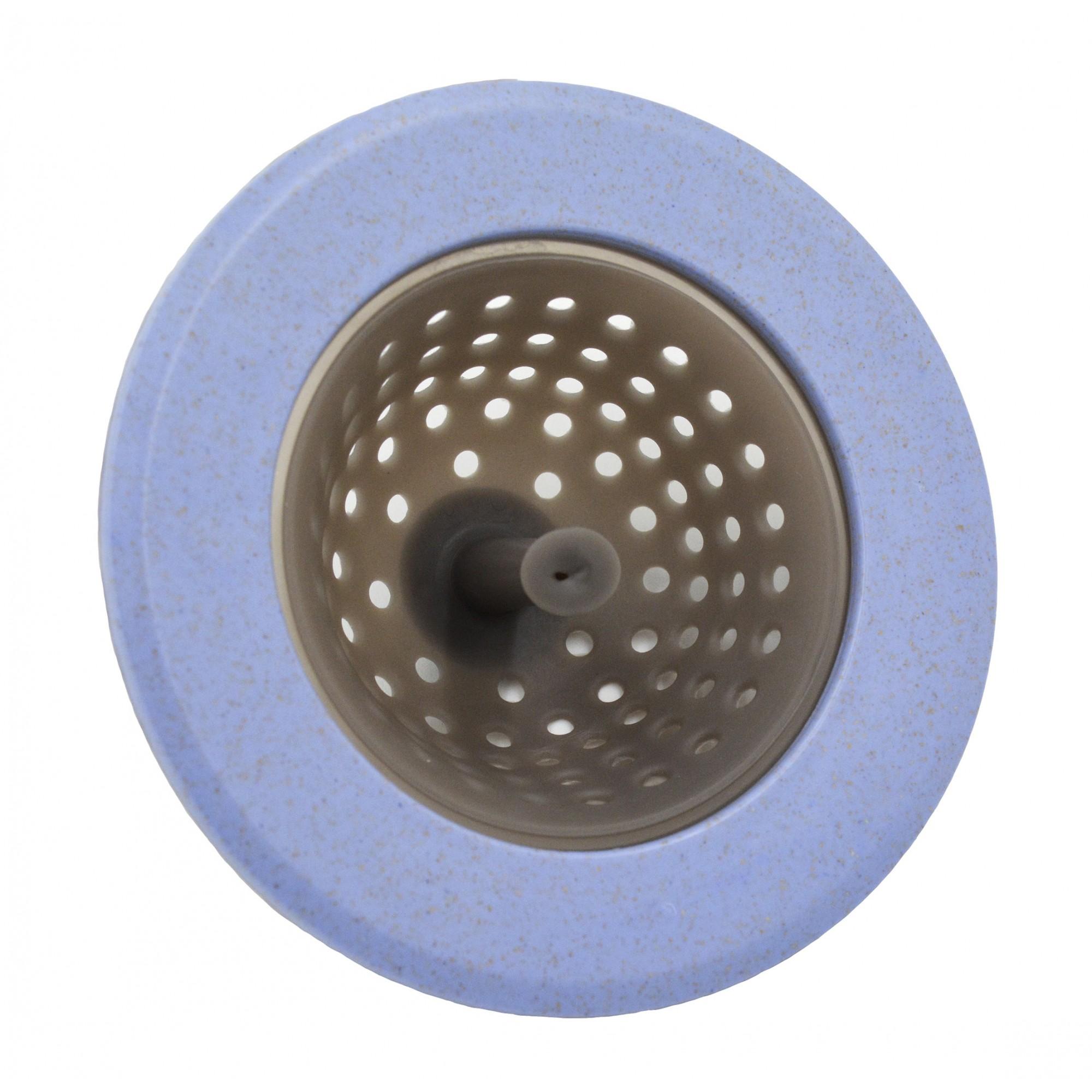 Сеточка для сбора мусора, силикон, пластик ANGO голубая ANGO