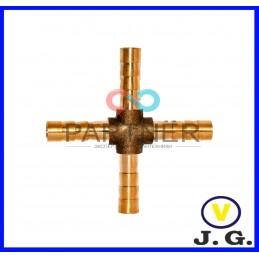Крестовина М10, латунь J.G. - 1