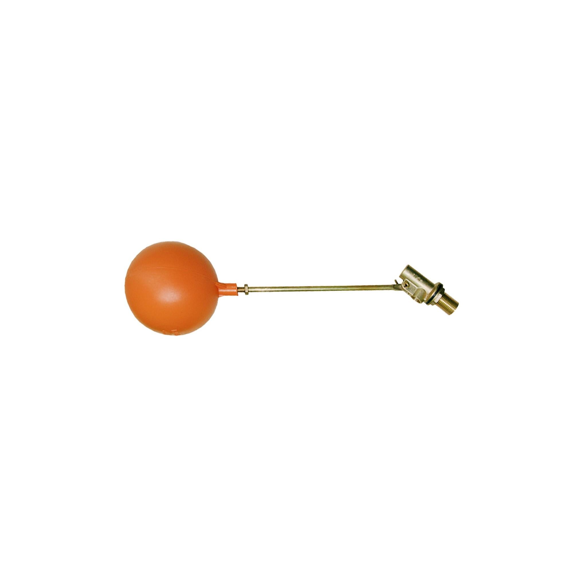 """Клапан впускной для емкости 1"""" боковое подключение латунь J.G. J.G. - 1"""