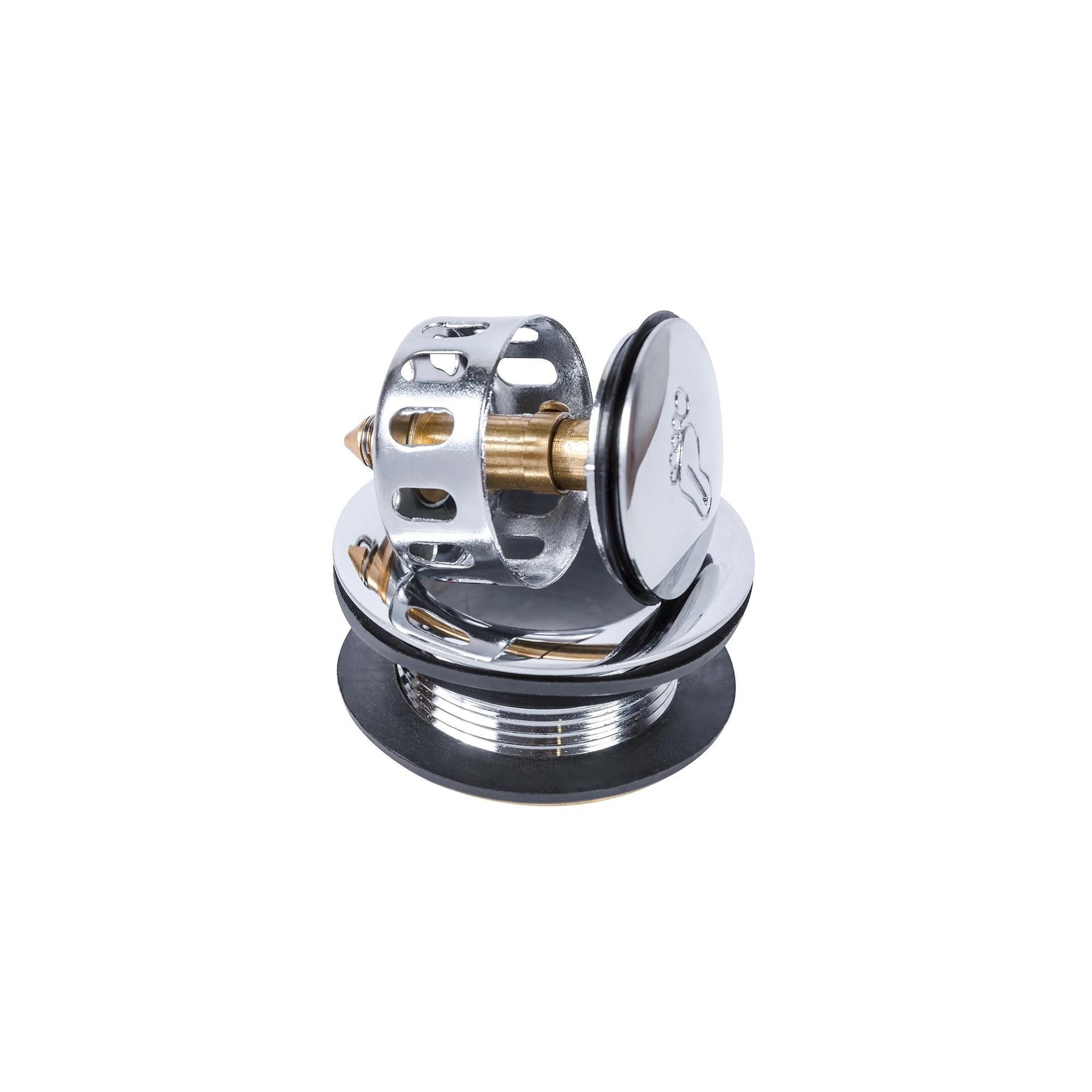 Донный клапан Пятка для душевой кабины с сеткой 40 мм J.G. - 1