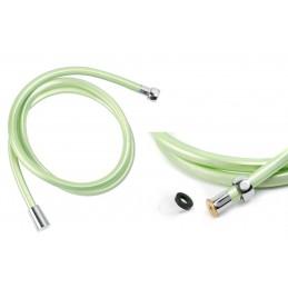 Шланг для душа ANGO, ПХВ 150 см, квадратное сечение, зеленый ANGO - 1