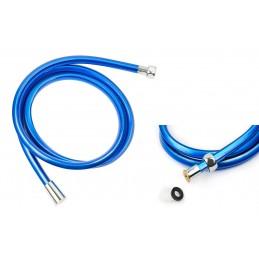 Шланг для душа ANGO, ПХВ 150 см, квадратное сечение, голубой синий ANGO - 1