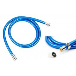 Шланг для душа круглое сечение ANGO, ПХВ 150 см синий ANGO - 1