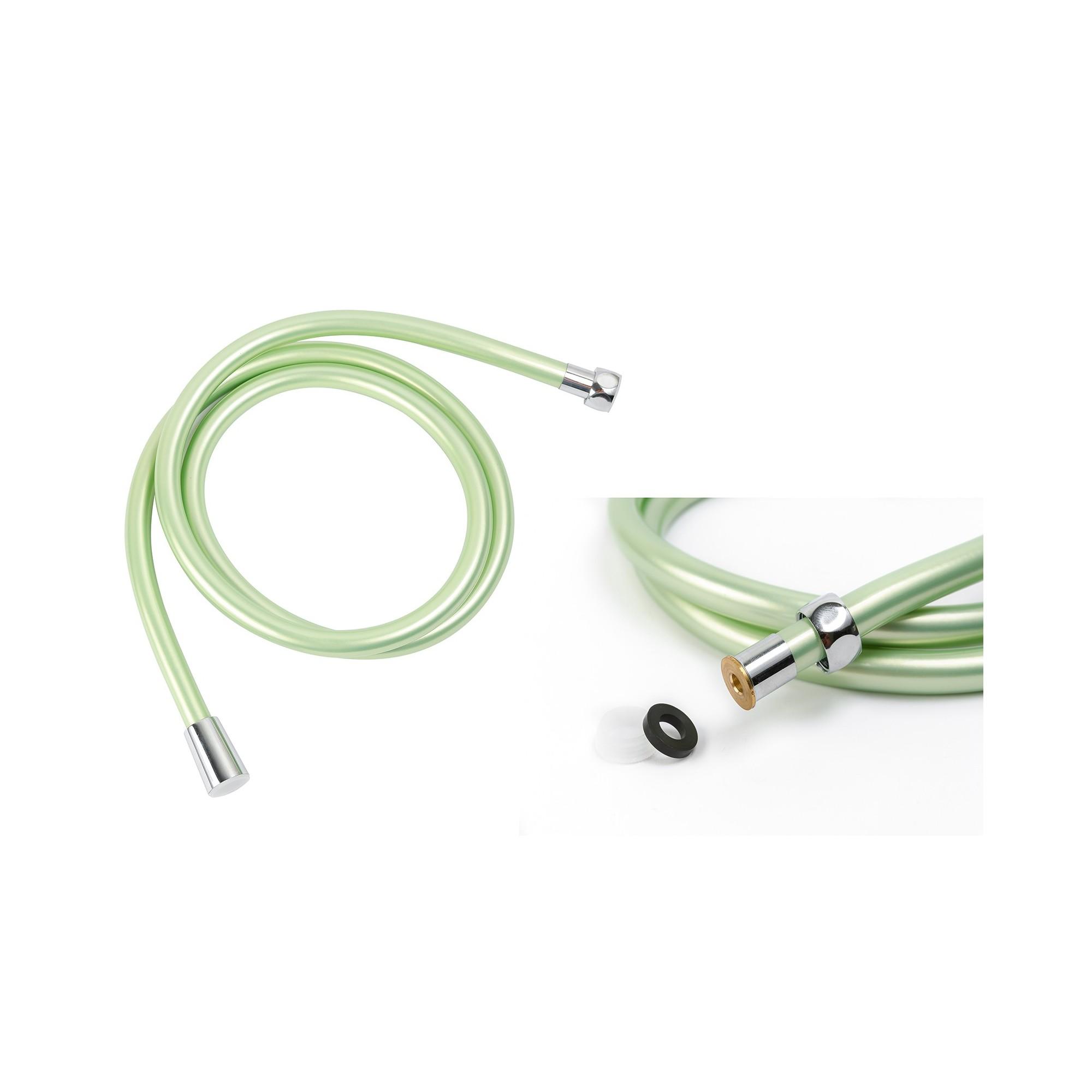 Шланг для душа круглое сечение ANGO, ПХВ 150 см, зеленый ANGO - 1