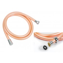 Шланг для душа круглое сечение ANGO, ПХВ 150 см, оранжевый ANGO - 1