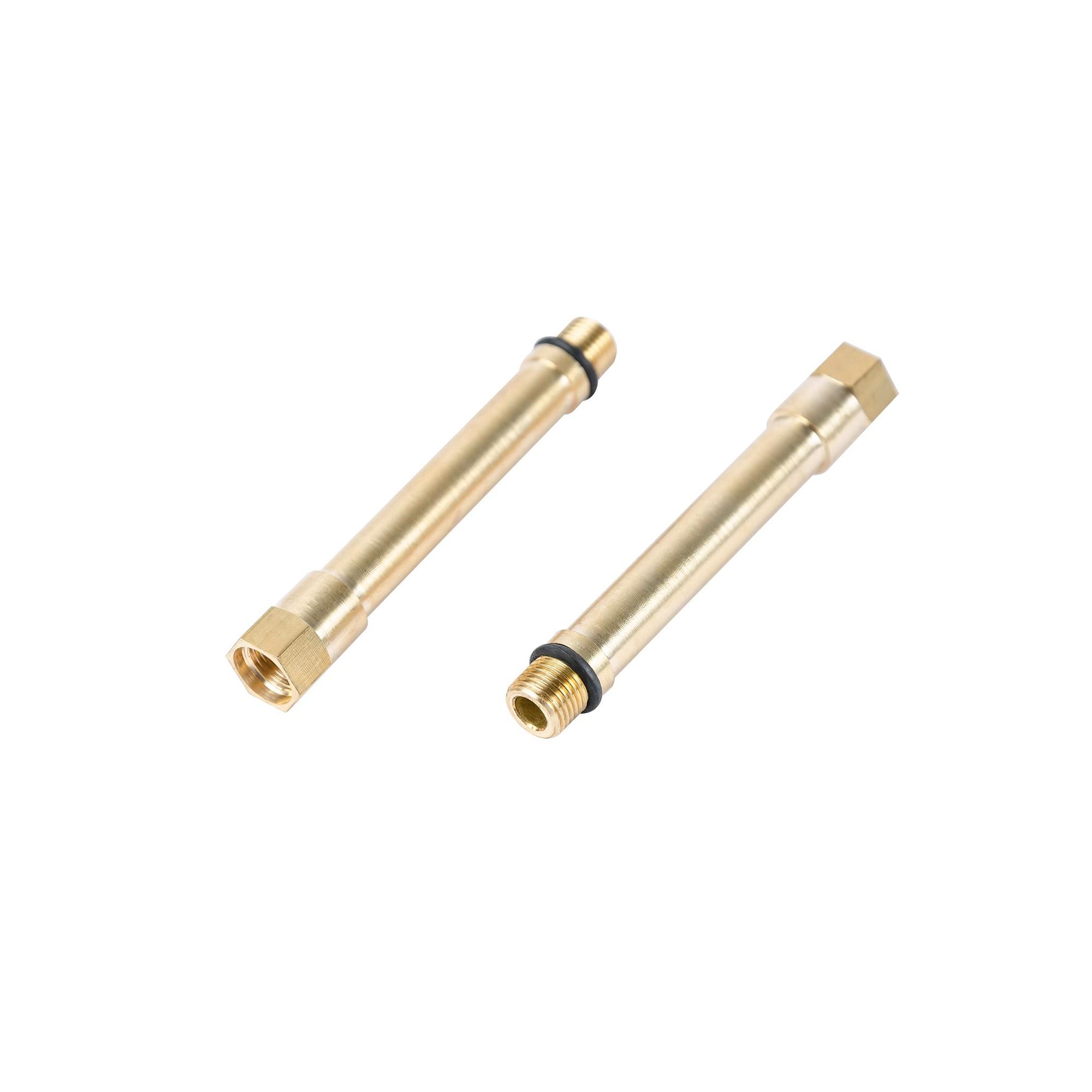 Удлинитель М10 на М10 латунь пара 82 мм J.G. - 1