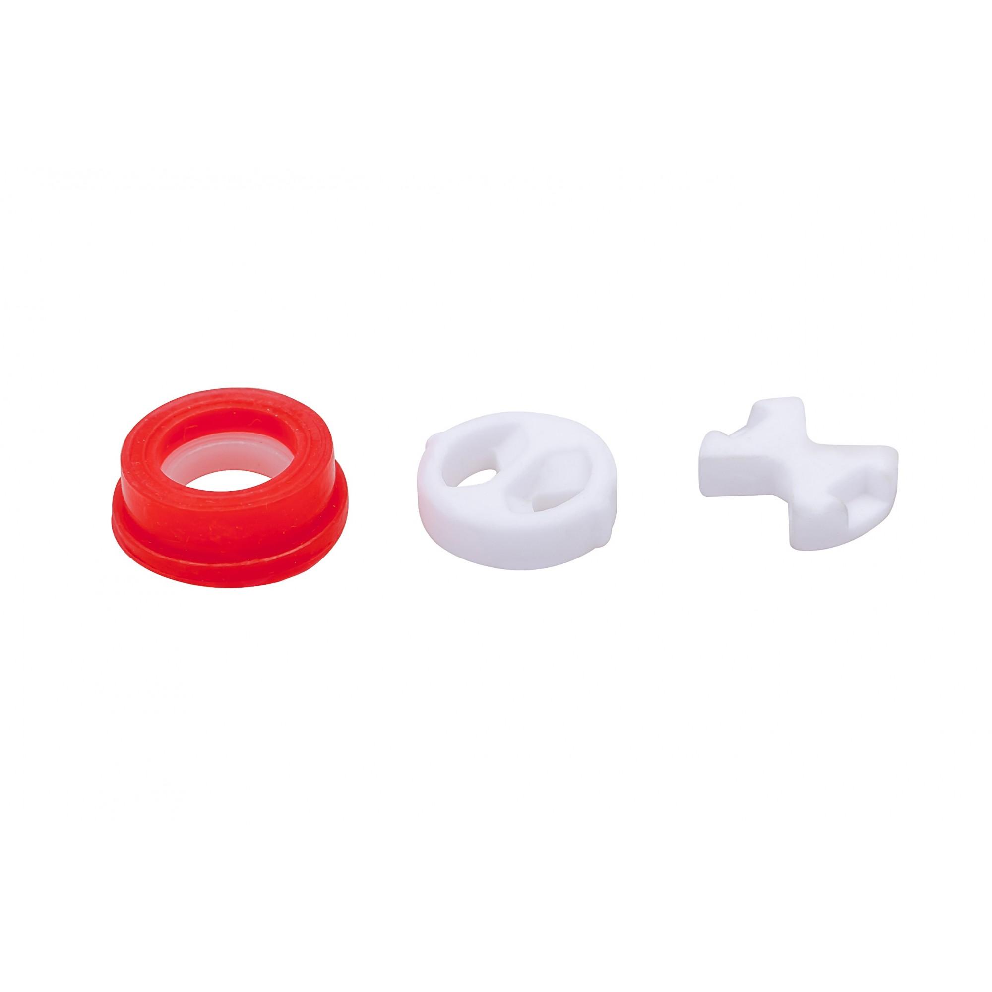 Набор прокладок для буксы 1/2, 15.5 мм упаковка 10 штук ANGO - 1