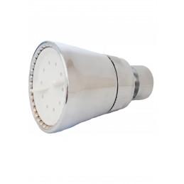 Лейка для летнего душа хромированная пластиковая, поворотная, разборная Колокольчик J306 ANGO - 1