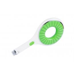 Лейка для душа А 1514 зеленая большая, с кнопкой СТОП, в коробке Ango ANGO - 1
