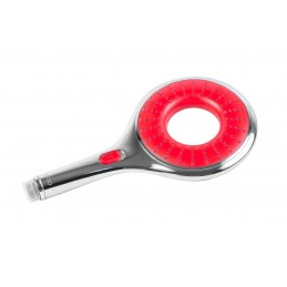 Лейка для душа А1514 красная большая, с кнопкой СТОП, в коробке Ango ANGO - 1