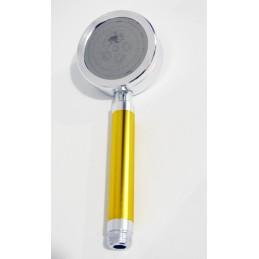 Лейка душа алюминиевая разборная с фильтром золотистая ANGO - 1