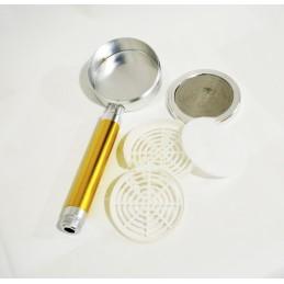 Лейка душа алюминиевая разборная с фильтром золотистая ANGO - 2
