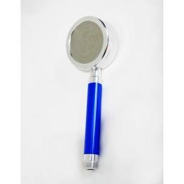 Лейка душа алюминиевая разборная с фильтром синяя ANGO - 1