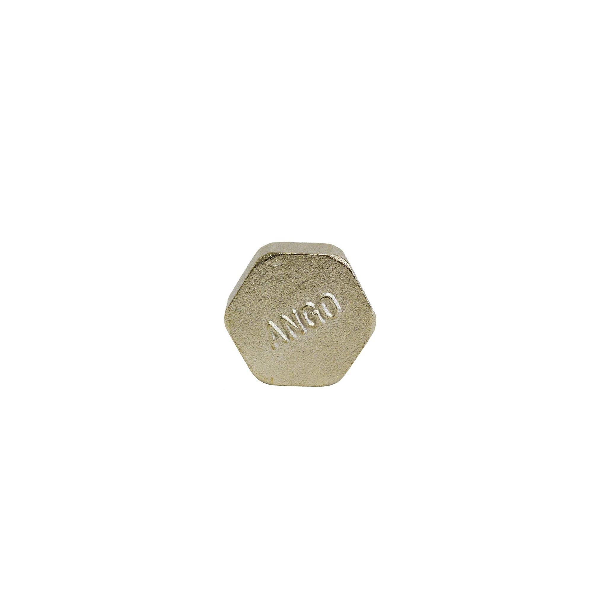 Заглушка 1вн никелированная ANGO ANGO - 1