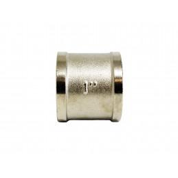 Муфта 1вв никелированная, латунь ANGO ANGO - 2