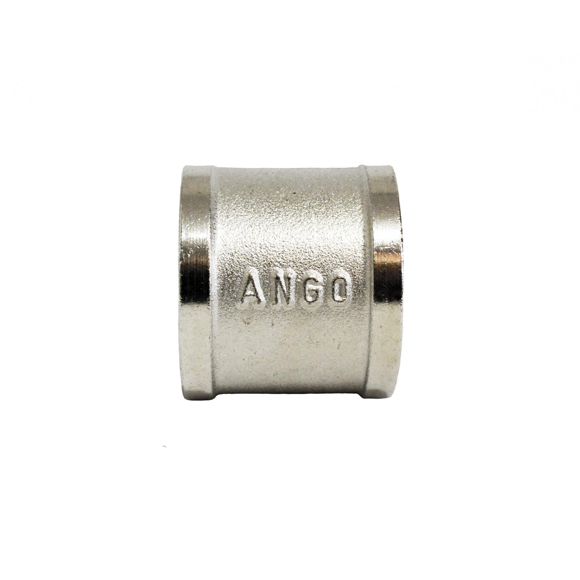 Муфта 1вв никелированная, латунь ANGO ANGO - 1