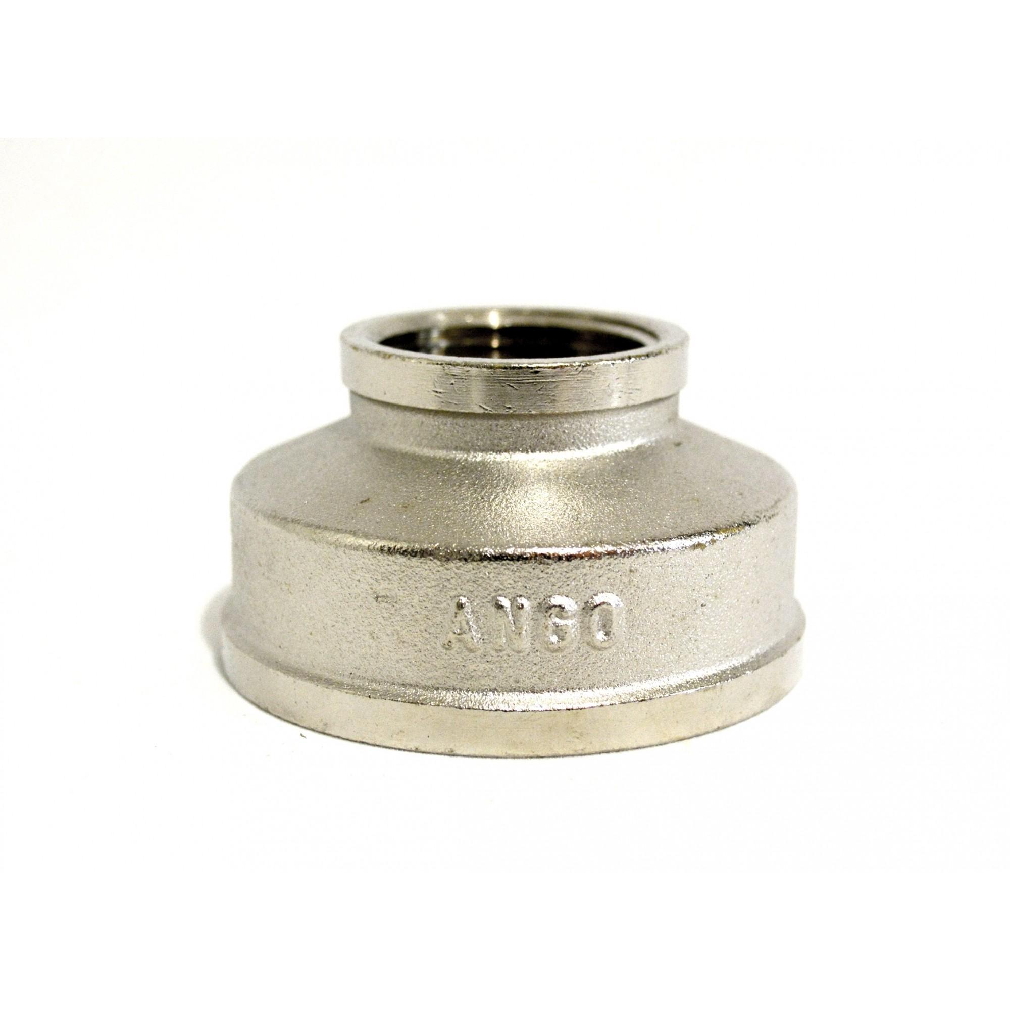 Муфта 2в на 1в никелированная ANGO ANGO - 1