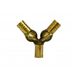 Кран-тройник пробковый Valve J.G. М10, латунь J.G. - 5