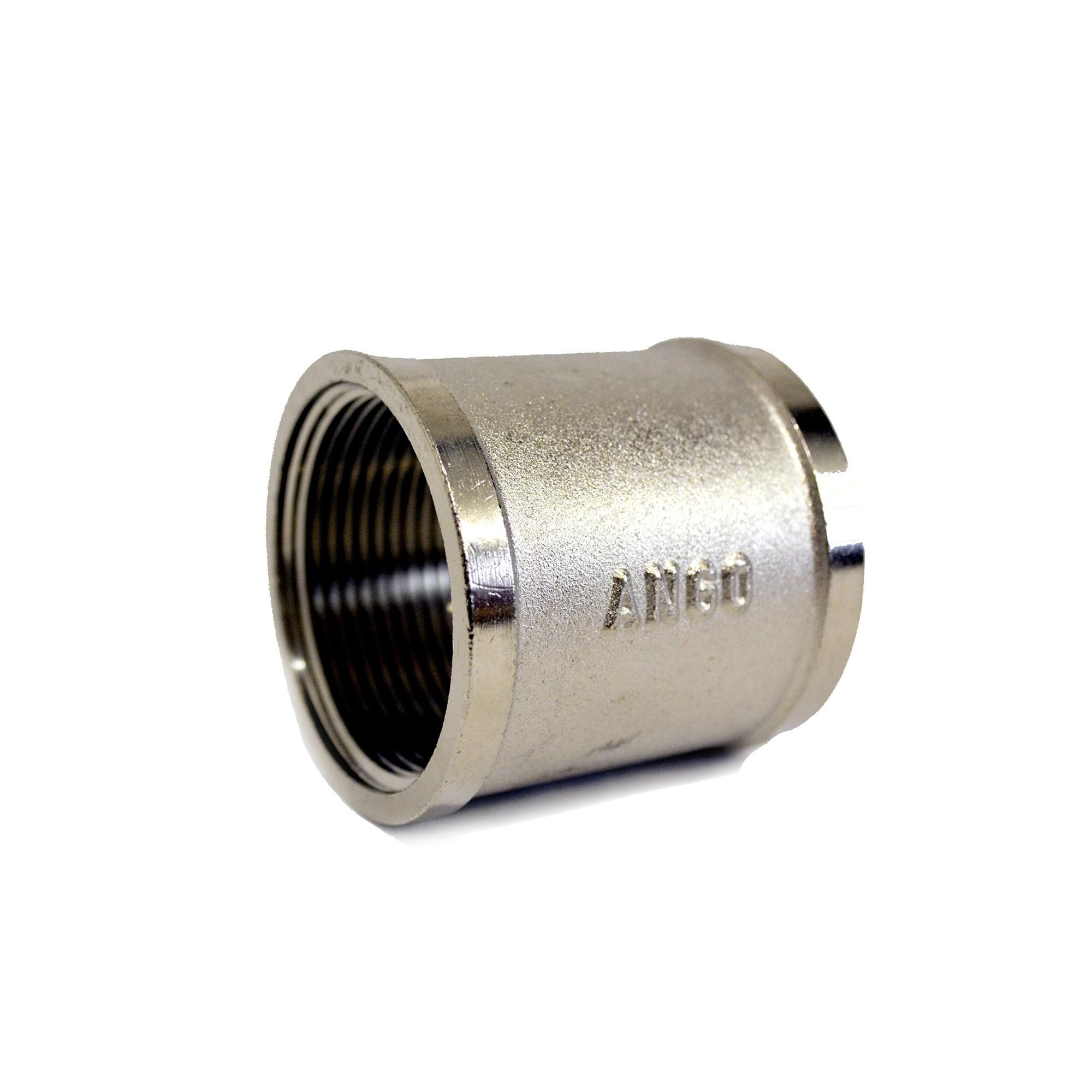 Муфта 2 вв никелированная ANGO ANGO - 1