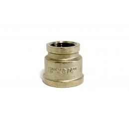 Муфта 1/2в на 3/4в никелированная, латунь ANGO ANGO - 1