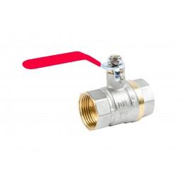 Кран шаровый Valve JG 1'' вв красная ручка для воды J.G. - 1