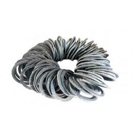 Упаковка паронитовых прокладок 100 шт для газового счетчика и для чугунной гранбуксы 30мм*37мм J.G. - 1