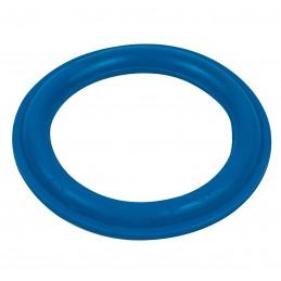 Упаковка прокладок 10 шт на сифон фигурная, выпуклая 72мм*51мм,синяя (10шт)  - 1