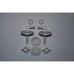 Крышка для унитаза белая SYDANIT SD 08 полиропилен SYDANIT - 3