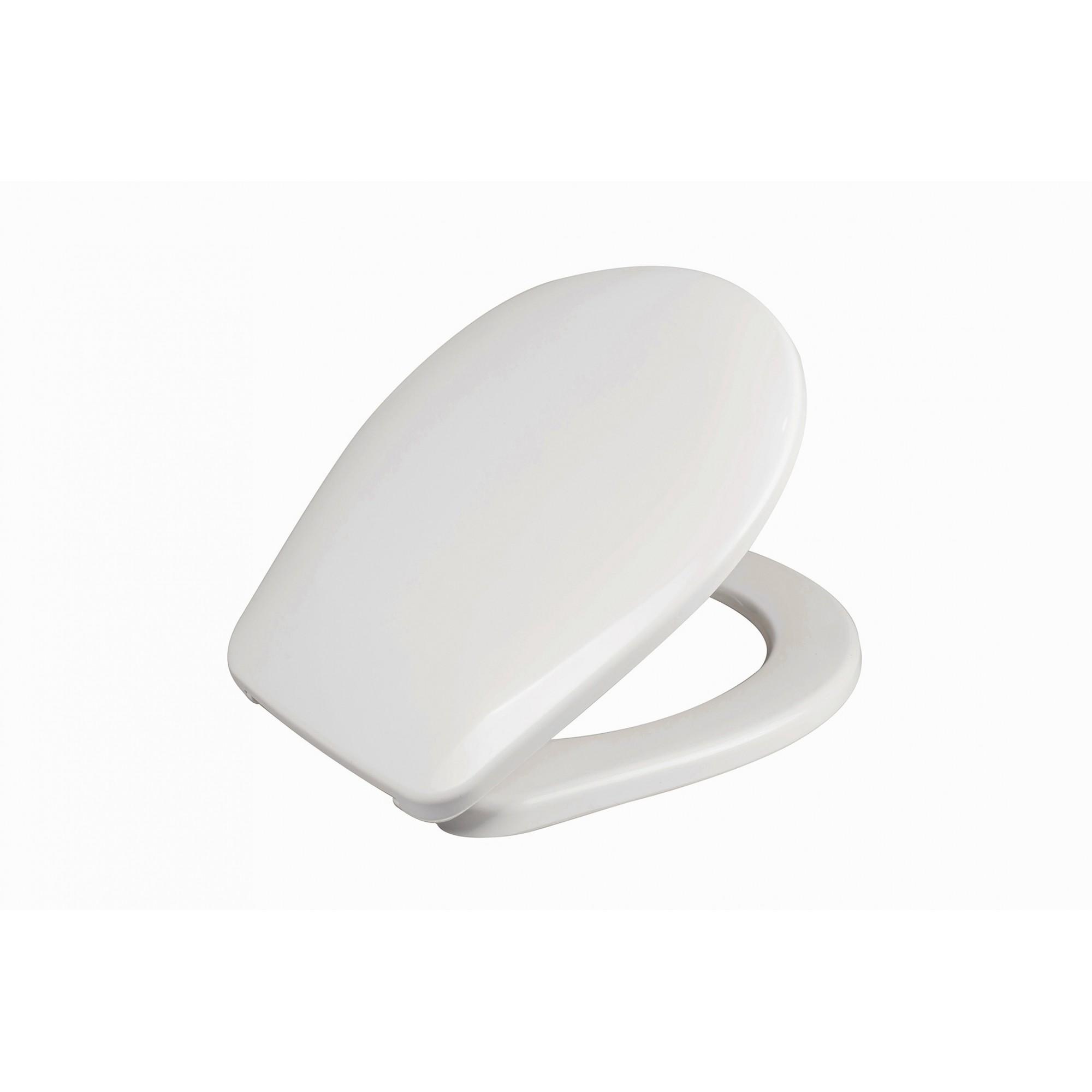 Крышка для унитаза белая SYDANIT SD 08 полиропилен
