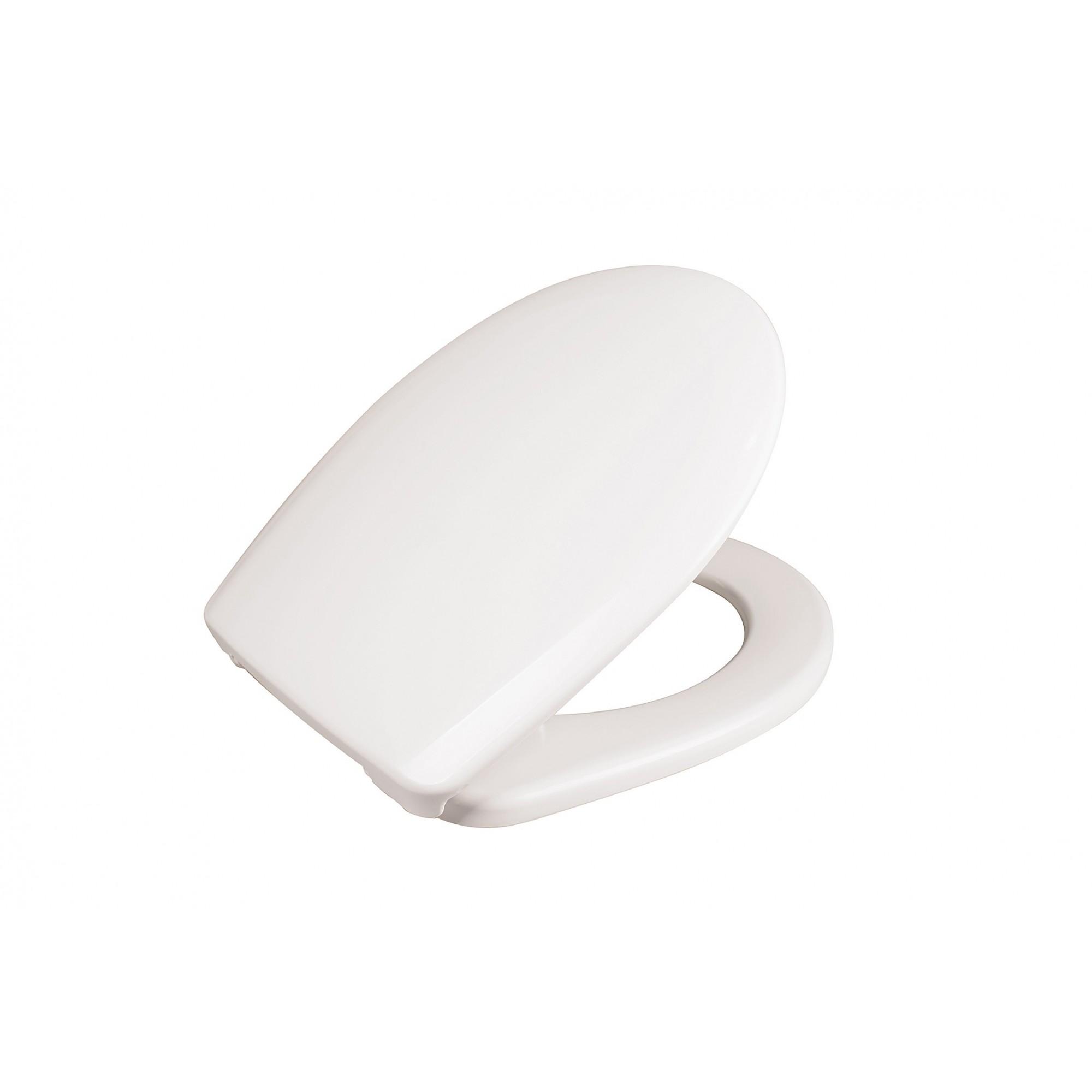 Крышка для унитаза белая SYDANIT СУ 66 полиропилен