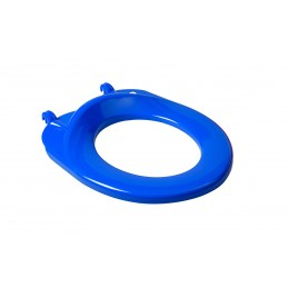 Сиденье для детского унитаза SYDANIT Бемби синее  - 1