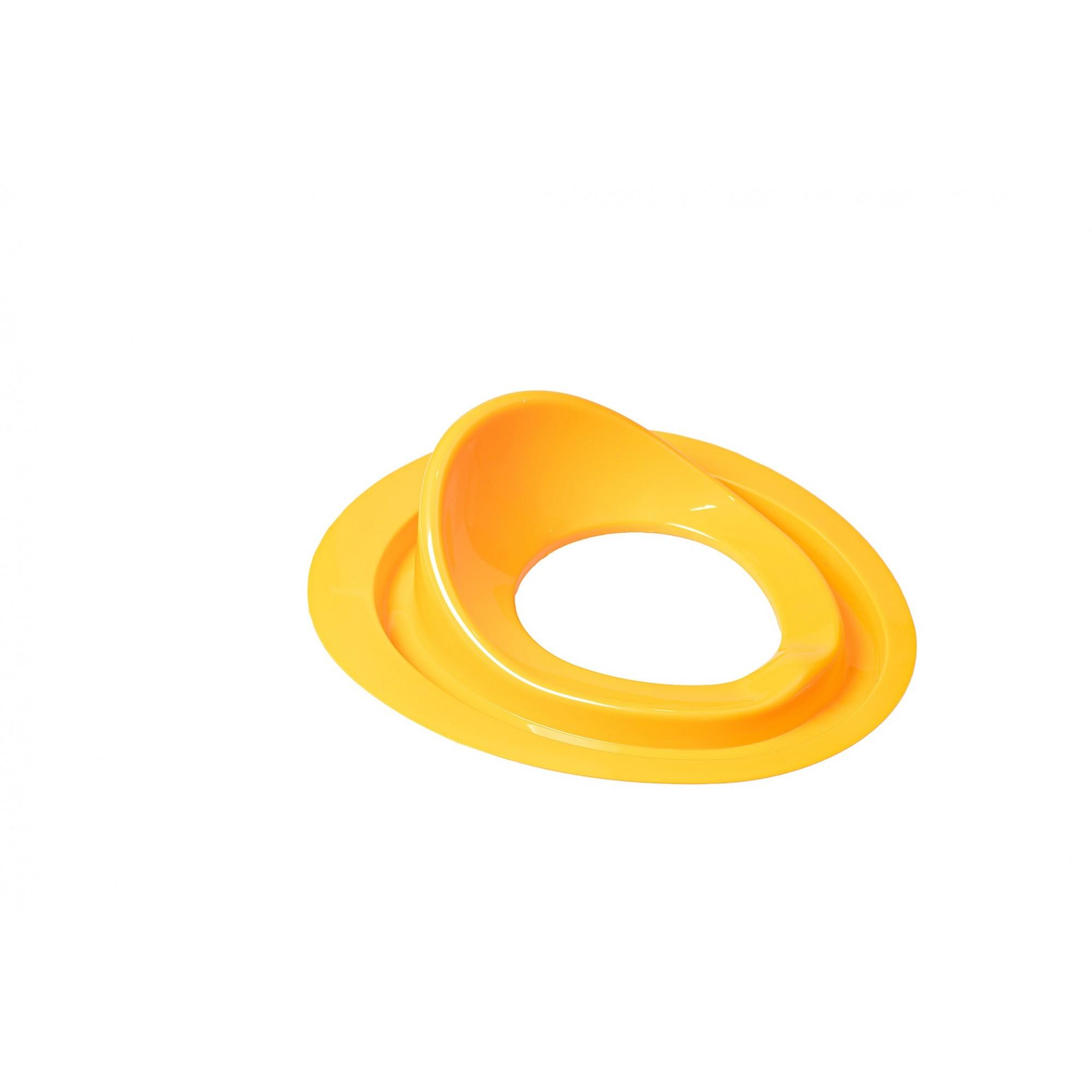 Накладка детская для унитаза SYDANIT Бобас под крышку желтая SYDANIT - 1