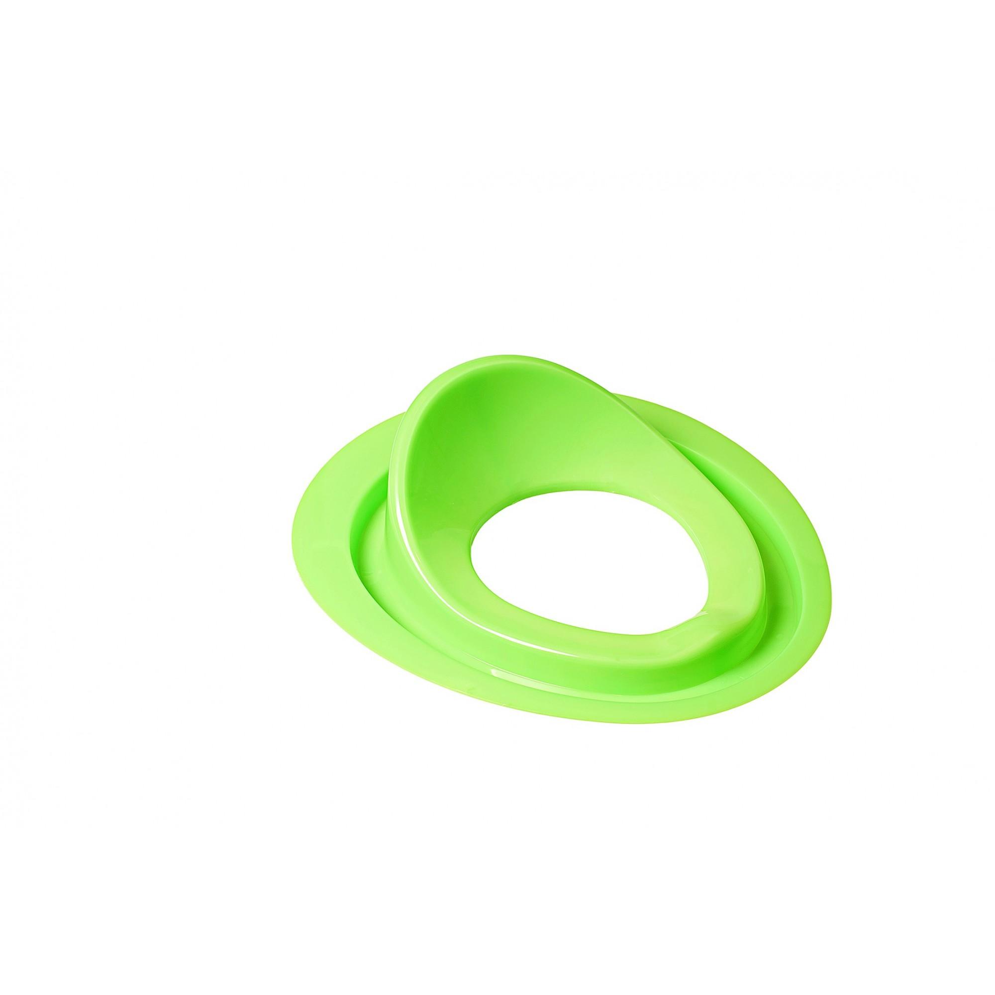 Накладка детская для унитаза SYDANIT Бобас под крышку зеленая SYDANIT - 1