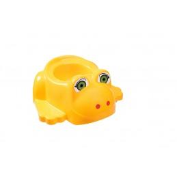 Детский горшок с крышкой SYDANIT ЖАБКА желтый SYDANIT - 1
