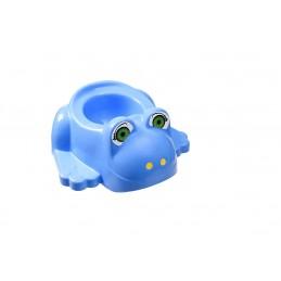 Детский горшок с крышкой SYDANIT ЖАБКА синий SYDANIT - 1