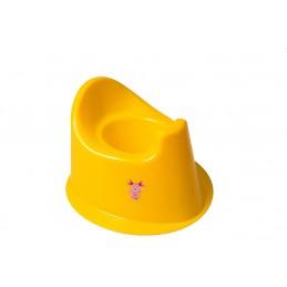 Детский горшок с крышкой SYDANIT МУЛЬТИК желтый SYDANIT - 1