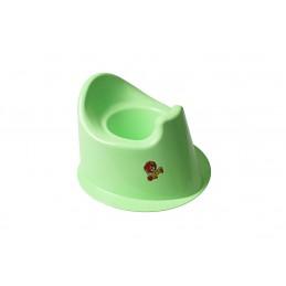 Детский горшок с крышкой SYDANIT МУЛЬТИК зеленый SYDANIT - 1