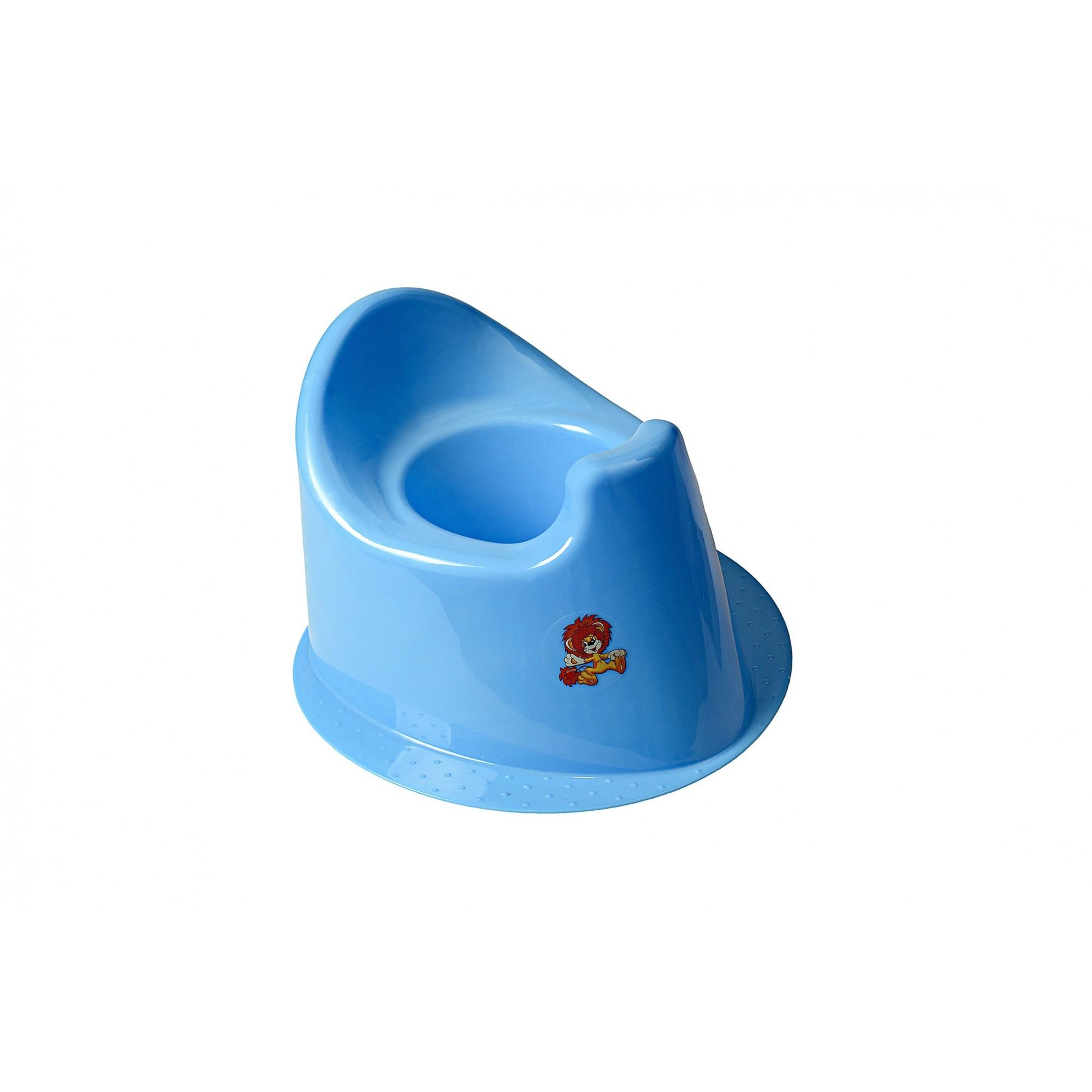 Детский горшок с крышкой SYDANIT МУЛЬТИК синий SYDANIT - 1