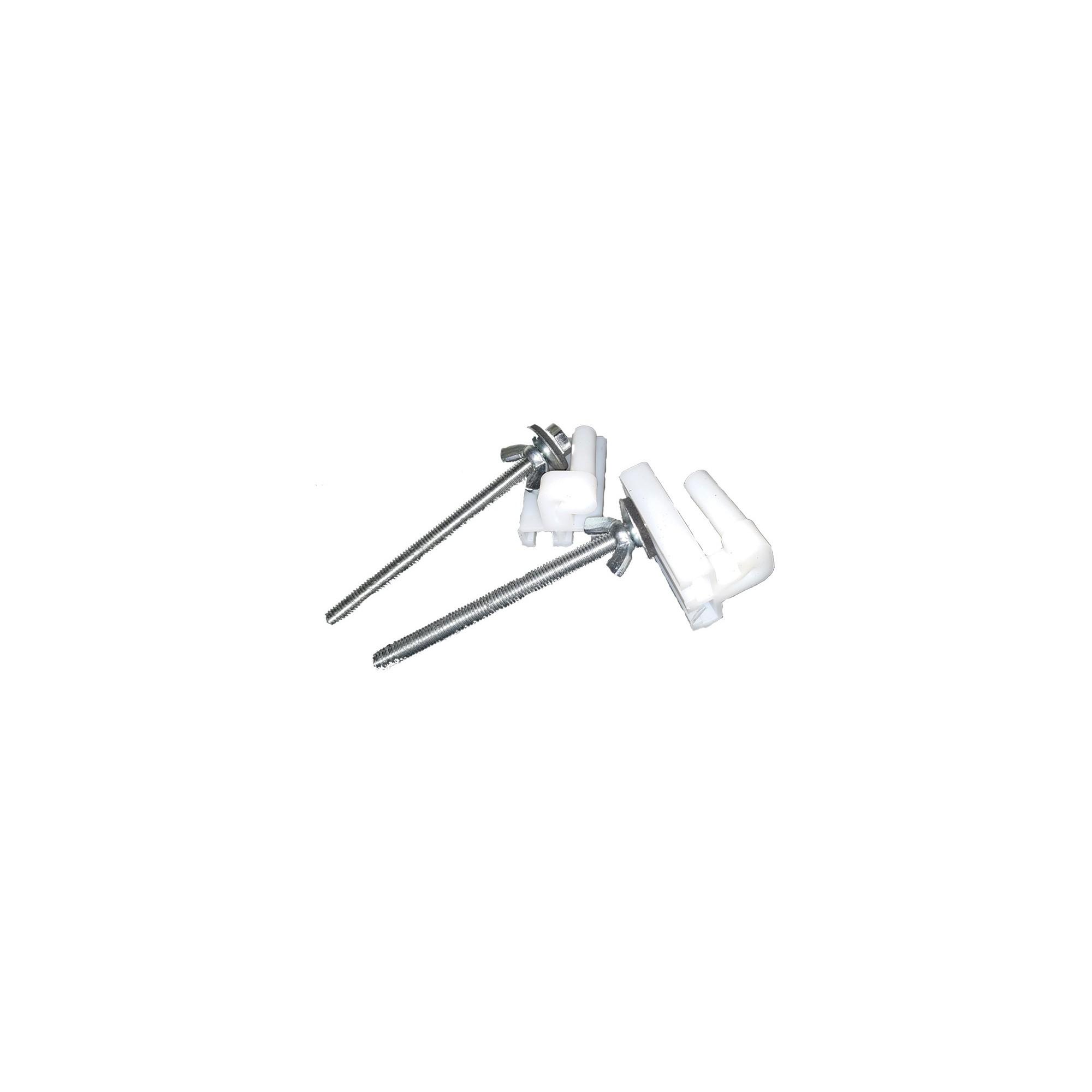 Крепление крышки унитаза железный (длинный) болт-90мм(С3-Д) (10шт)  - 1