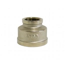 Муфта 1/2в*1в никелированный, латунь ANGO ANGO - 1