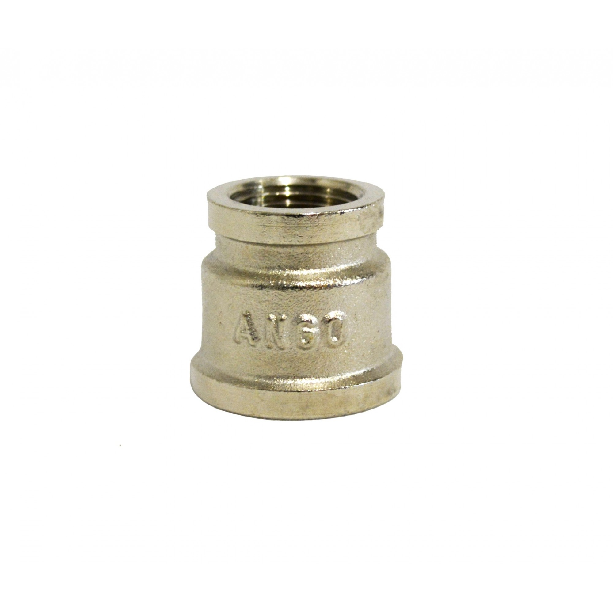 Муфта 3/8в*1/2в никелированный, латунь ANGO ANGO - 1