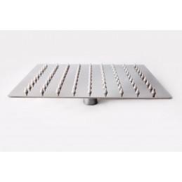 Лейка потолочная прямоугольная.Ultra Slim нерж А-809 200х250мм ANGO - 1