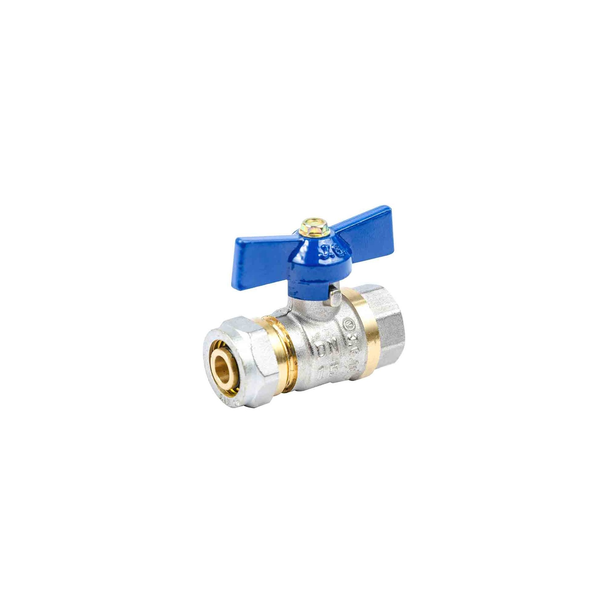 Кран для металлопластика 16*1/2в JG усиленный J.G. - 1