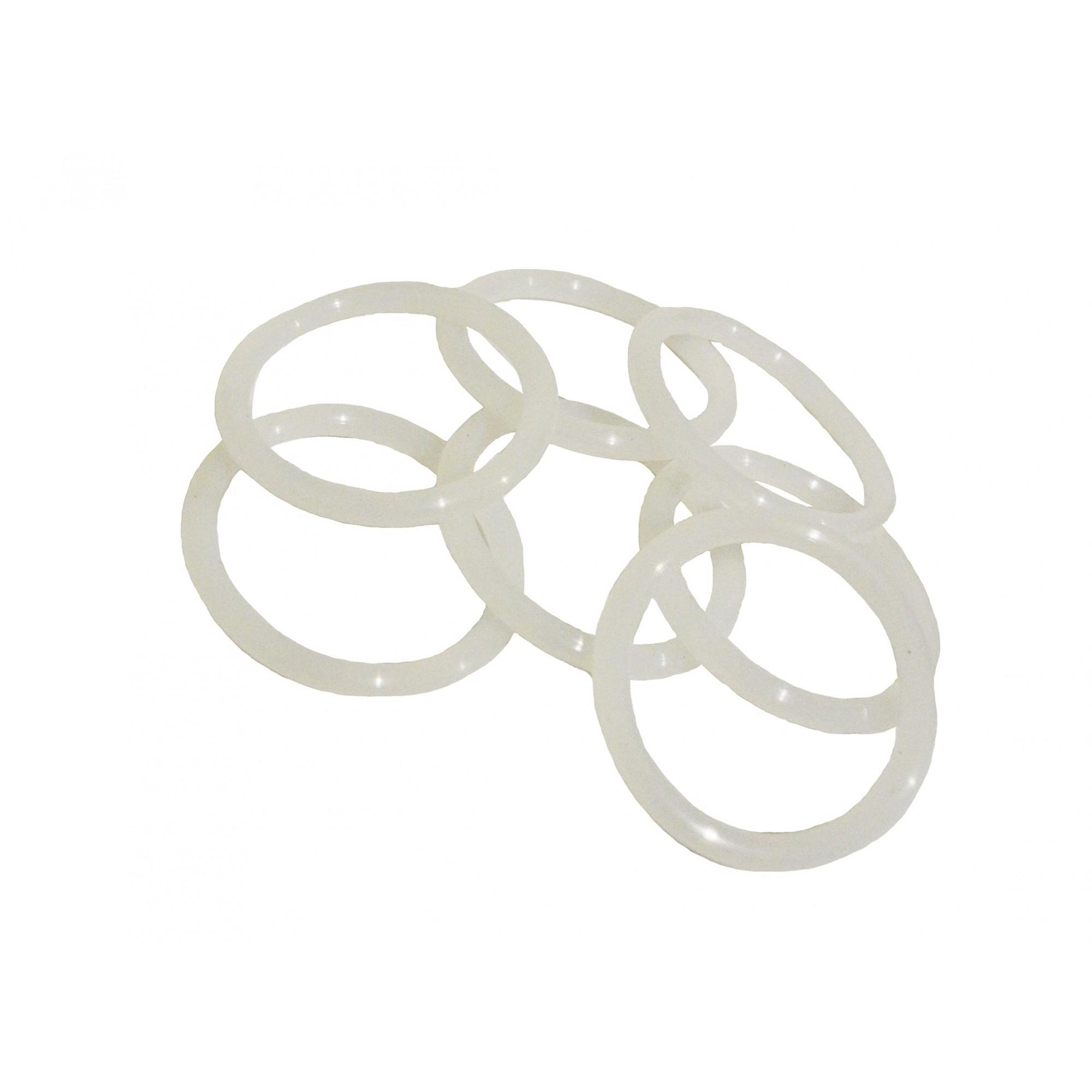 Упаковка силиконовых прокладок 100 шт кольцо на американку под пайку 25 34мм*3.5мм J.G. - 1